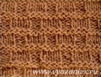 Плетенка корзинка - изнаночная сторона